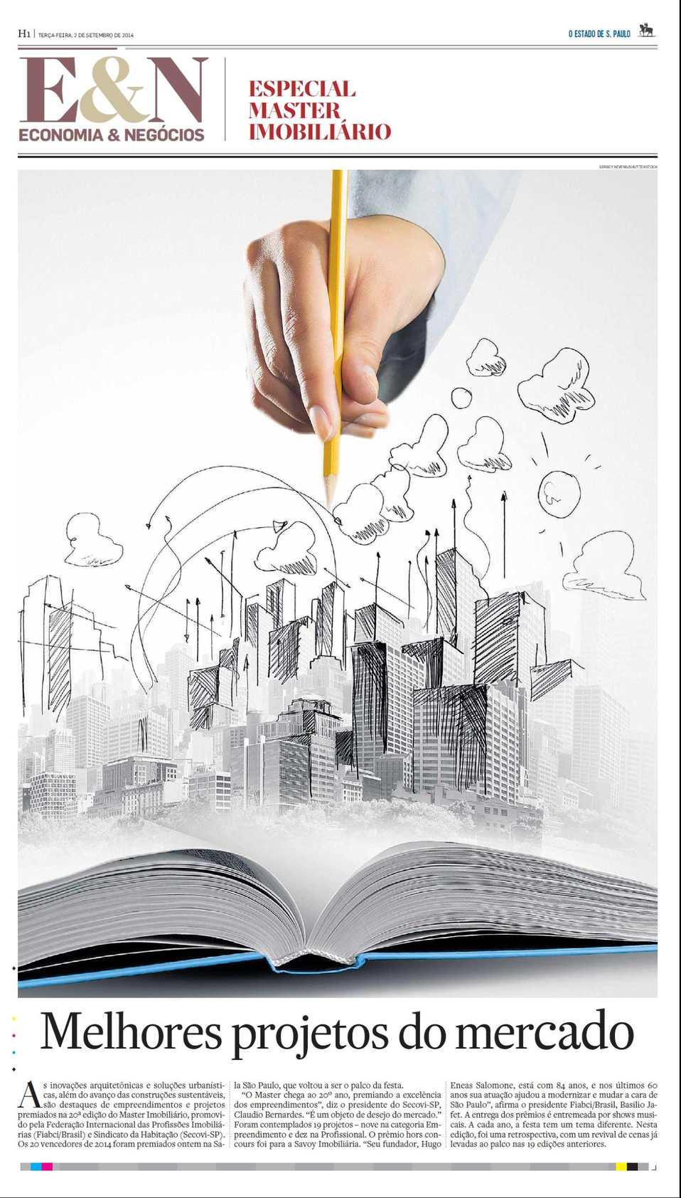 Caderno Especial Prêmio Master Imobiliário 2014