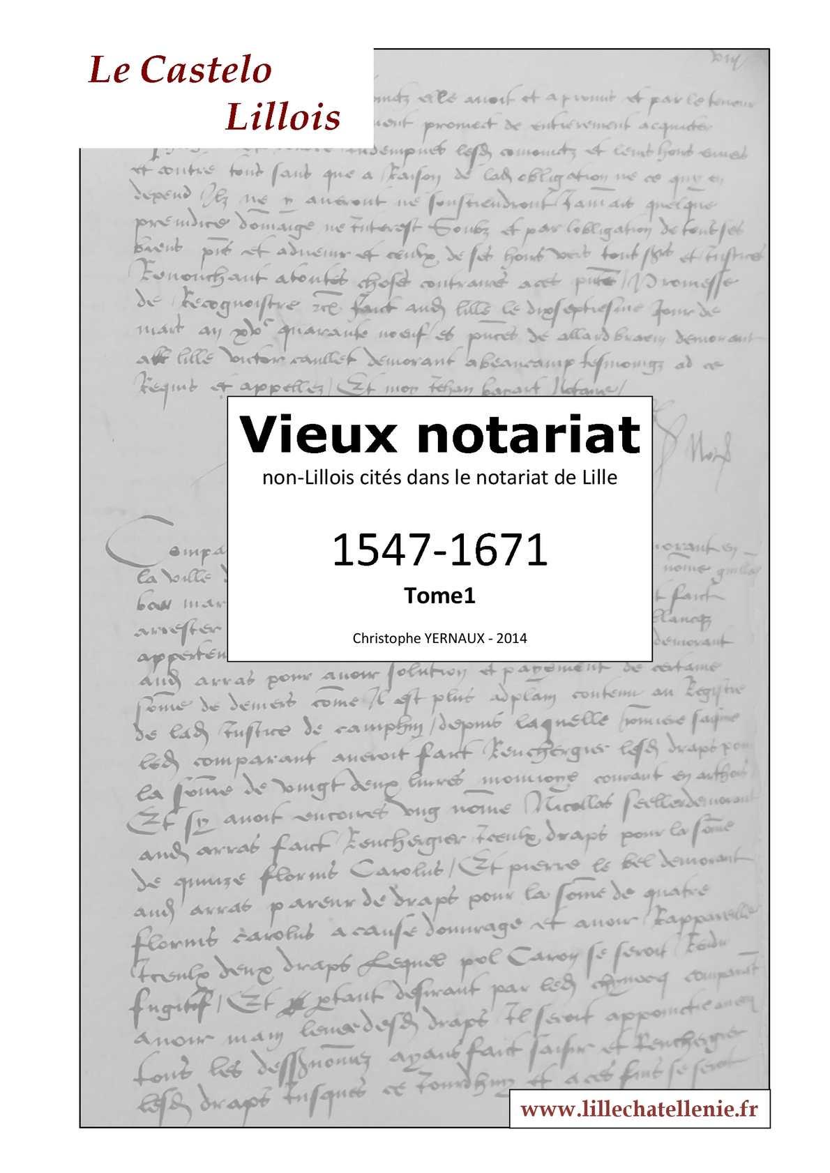 Etrangers dans le notariat Lillois n°1