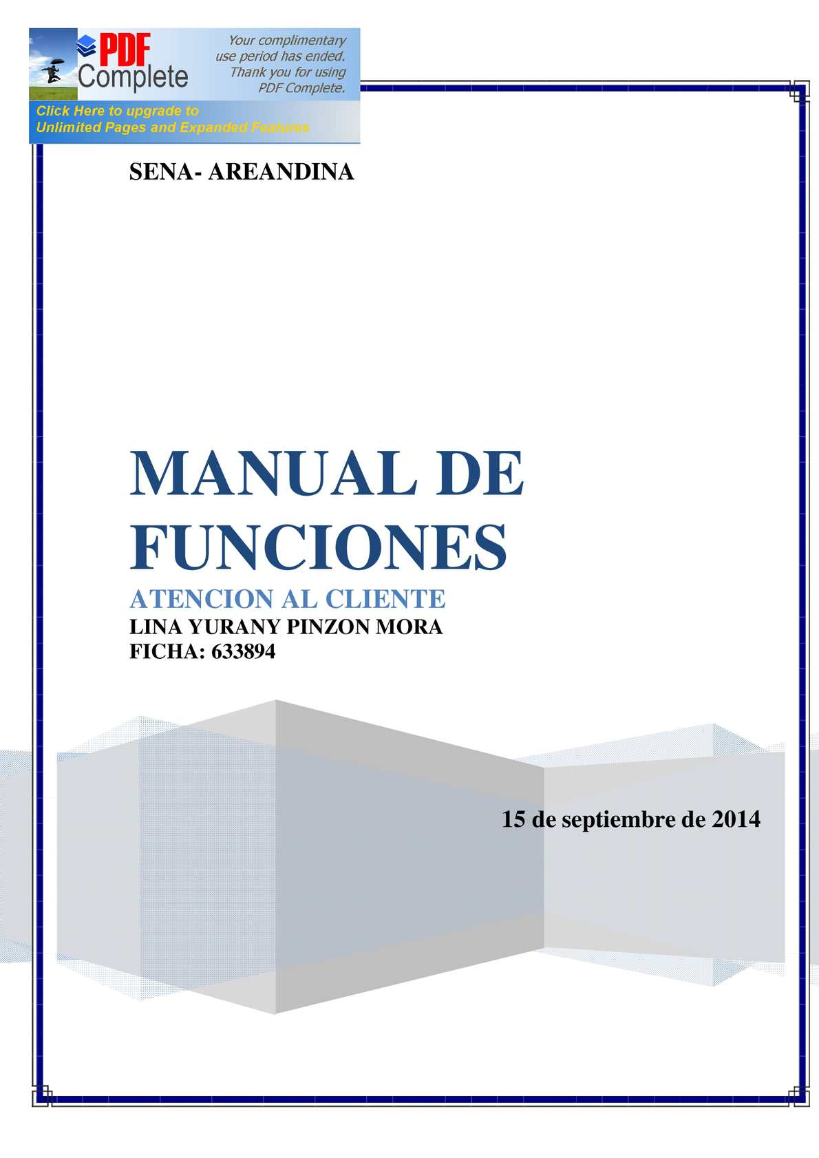 Calam o manual de funciones for Manual de acuicultura pdf