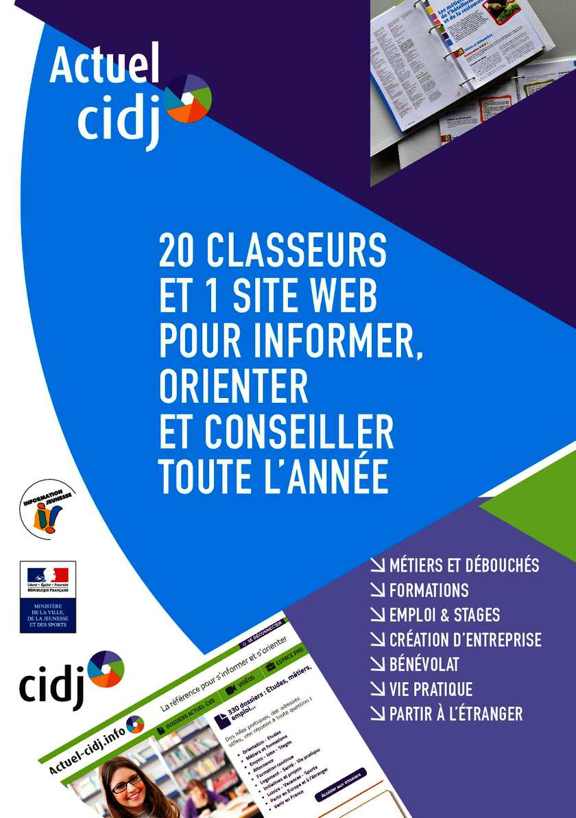 ACTUEL CIDJ - EDITION NATIONALE - FCL + NAT + WEB