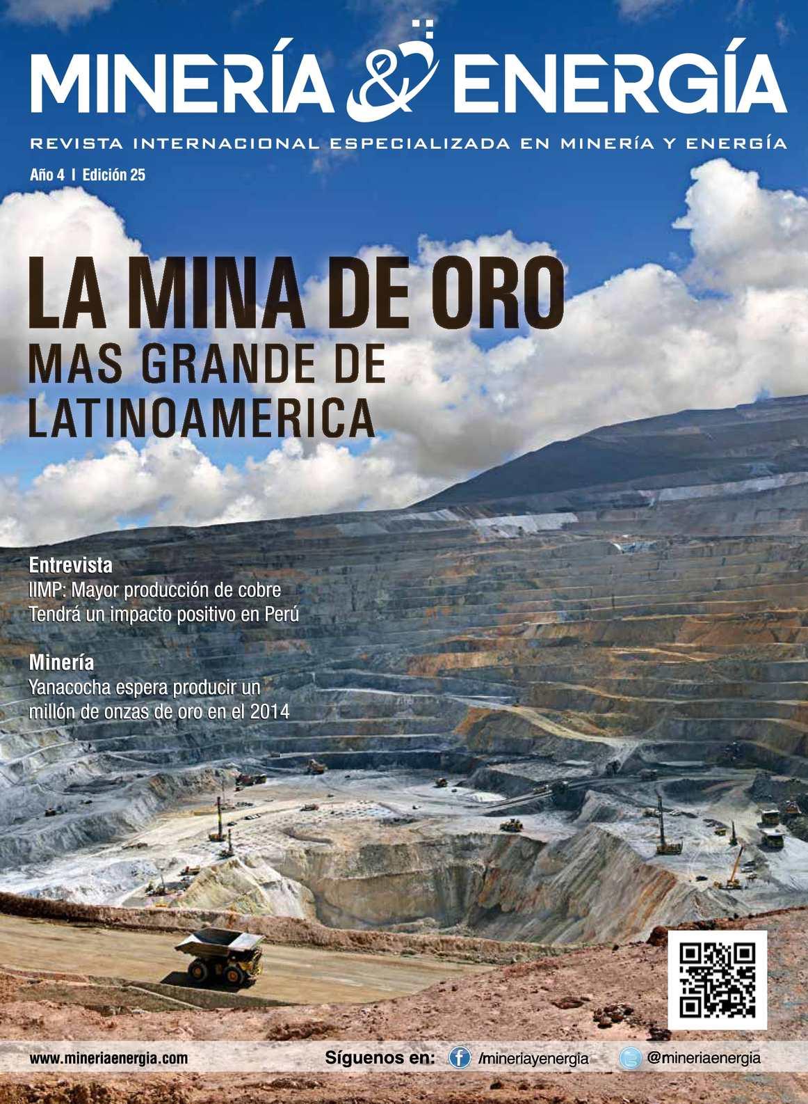 Revista Minería y Energía Edición Nº 25