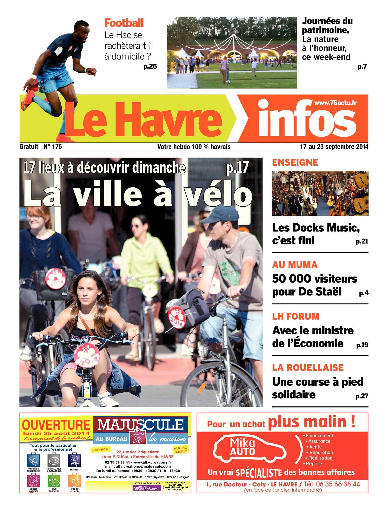 Calam O Le Havre Infos N 175