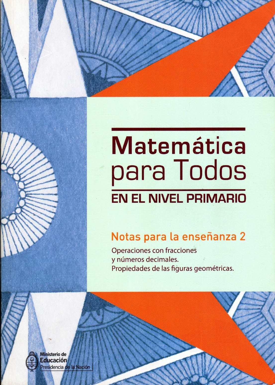 Calaméo - Matemática para todos en el Nivel Primario