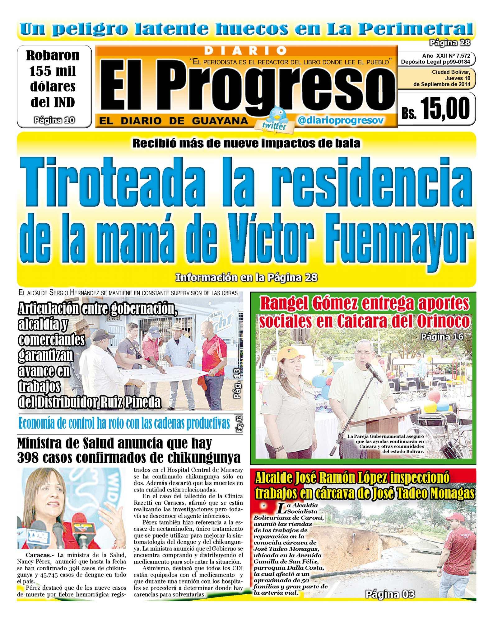 24c388aacf9 Calaméo - DIARIO EL PROGRESO EDICIÓN DIGITAL 18-09-2014