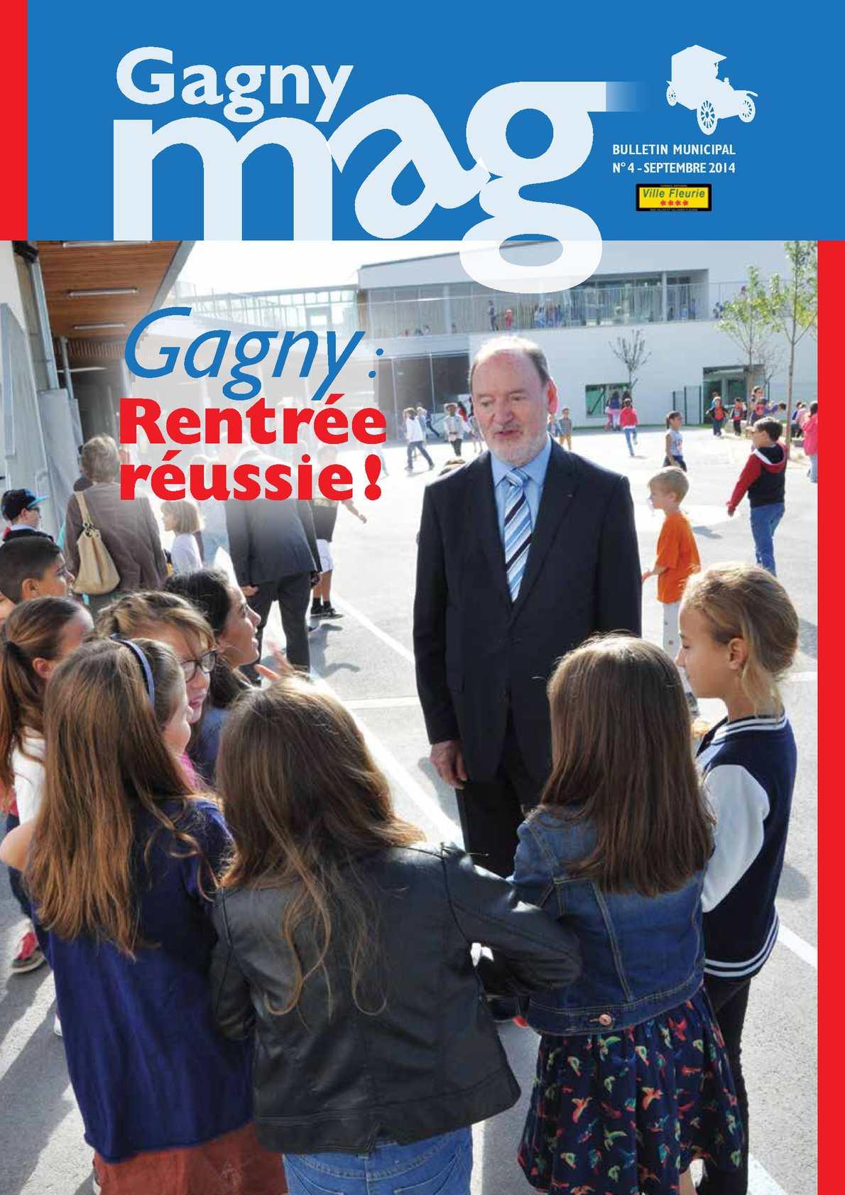 Calam o gagny magazine n 4 sept 2014 for Garage des floralies gagny