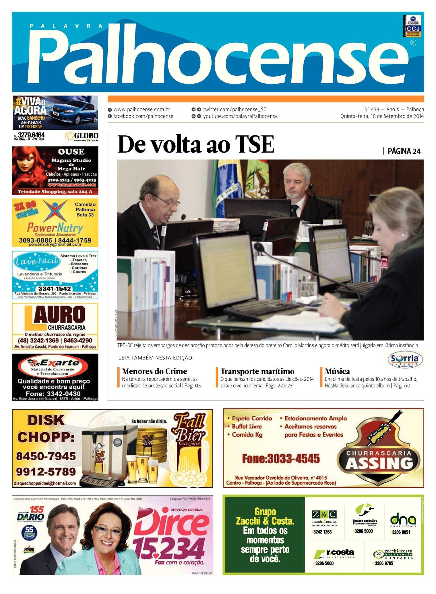 Calaméo - Jornal Palavra Palhocense - Edição 453 fdb68fc8d6a21