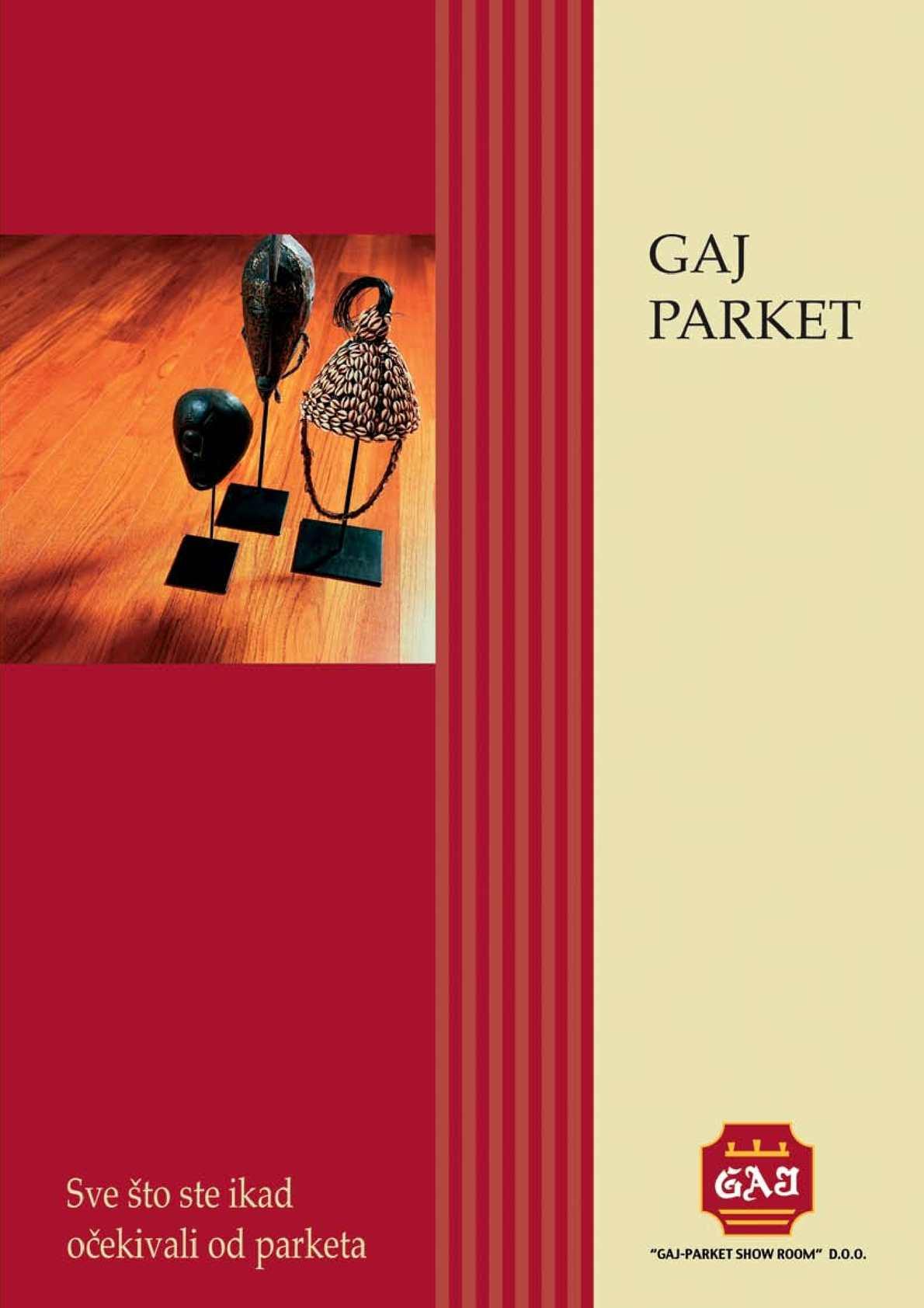 GAJ PARKET katalog