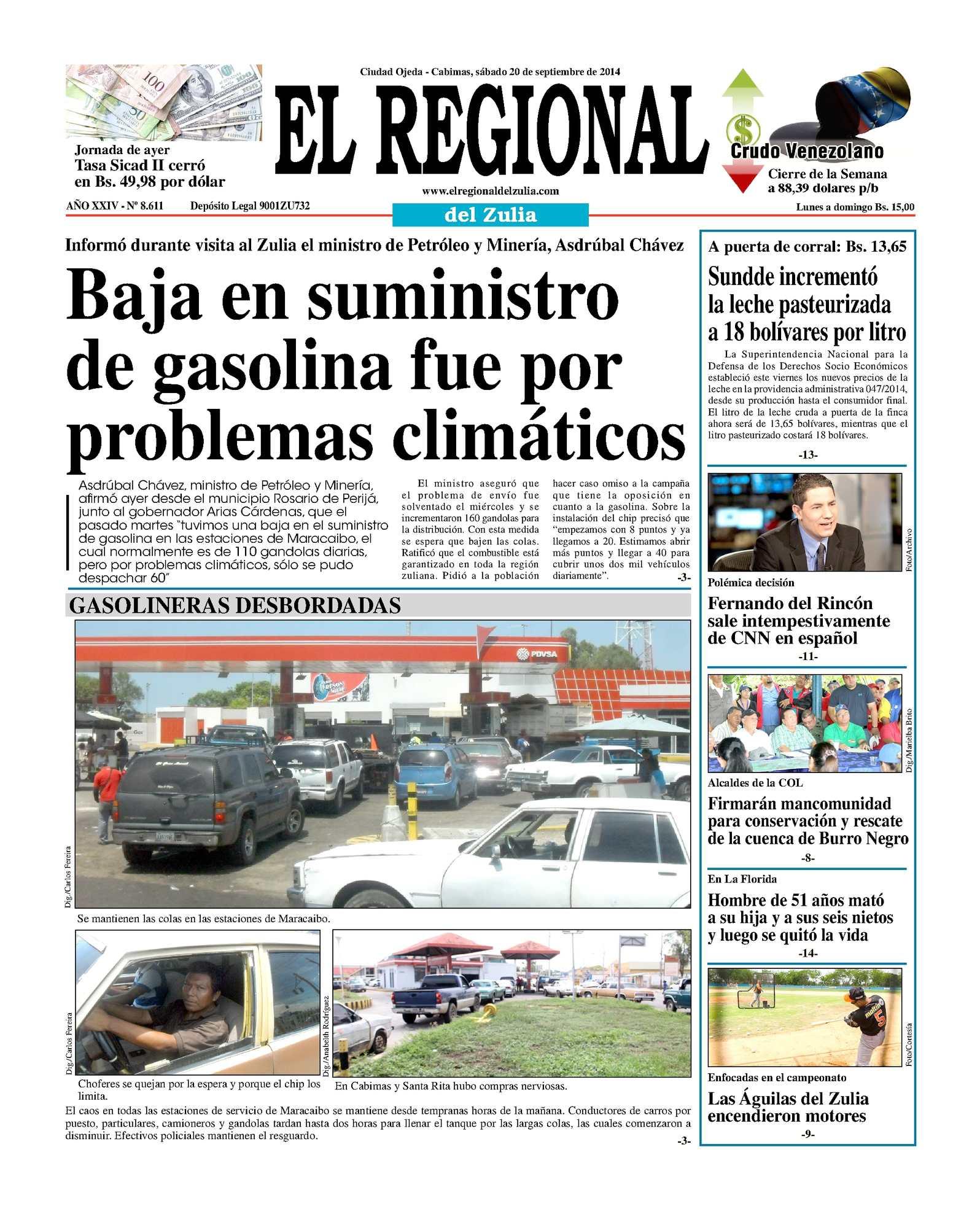 Calaméo - El Regional del Zulia 20-09-2014