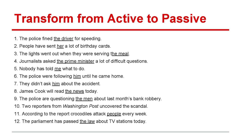 active student vs passive student