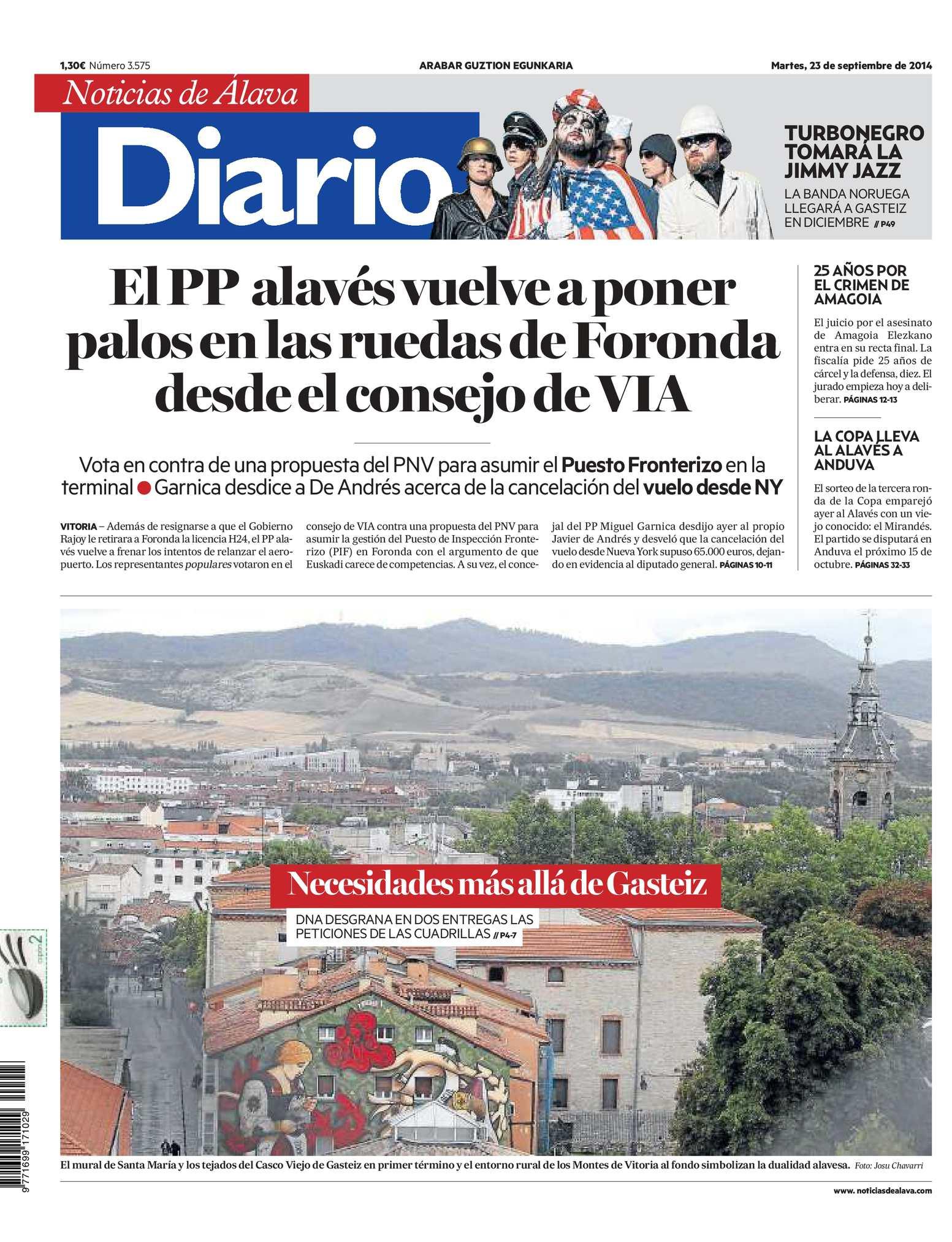 Calaméo - Diario de Noticias de Álava 20140923