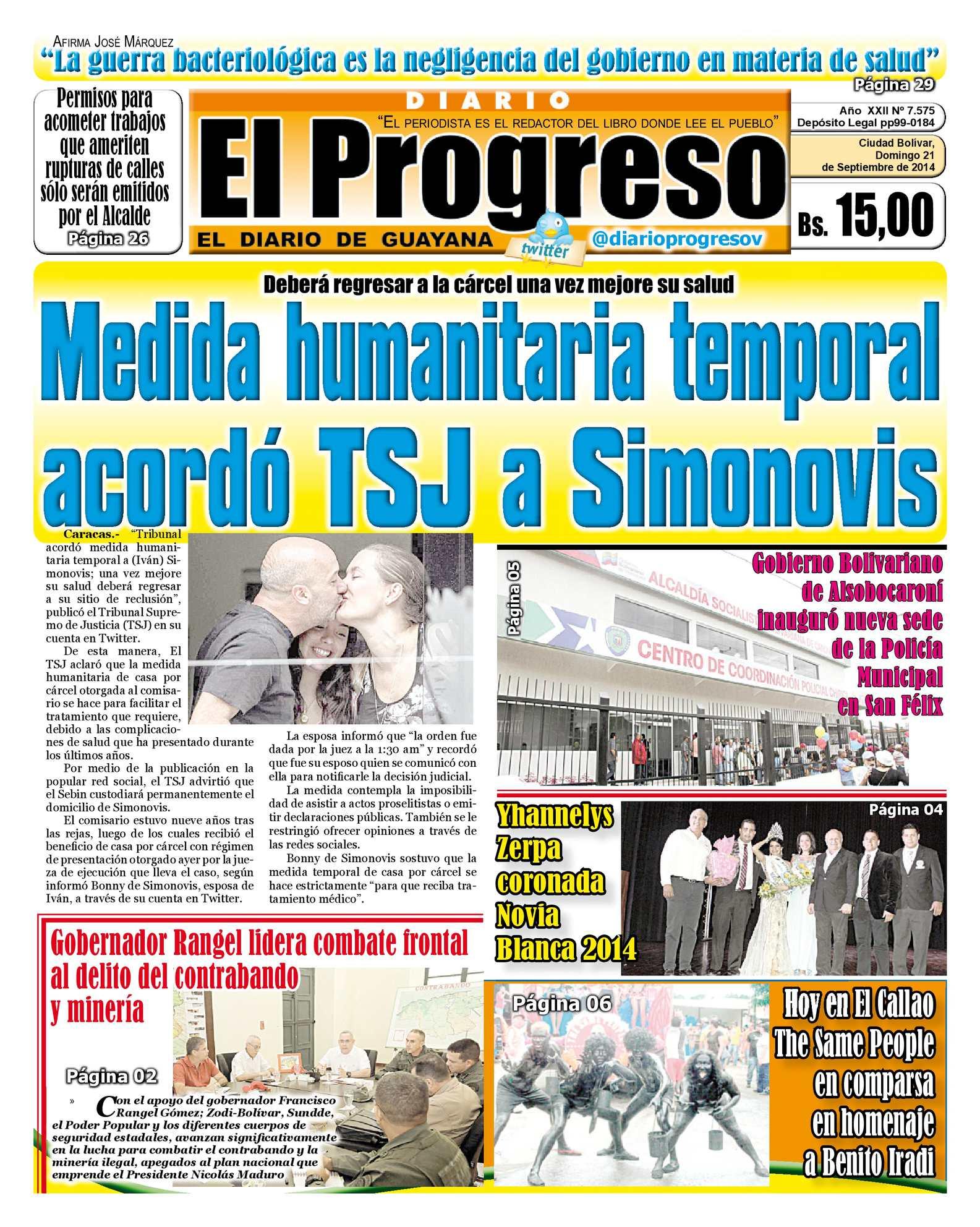 Calaméo - DIARIO EL PROGRESO EDICIÓN DIGITAL 21-09-2014 5ed637f739