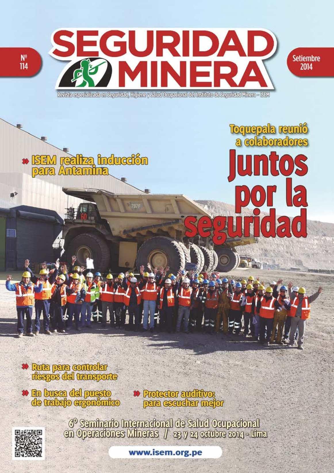 Calaméo - Seguridad Minera - Edición 114