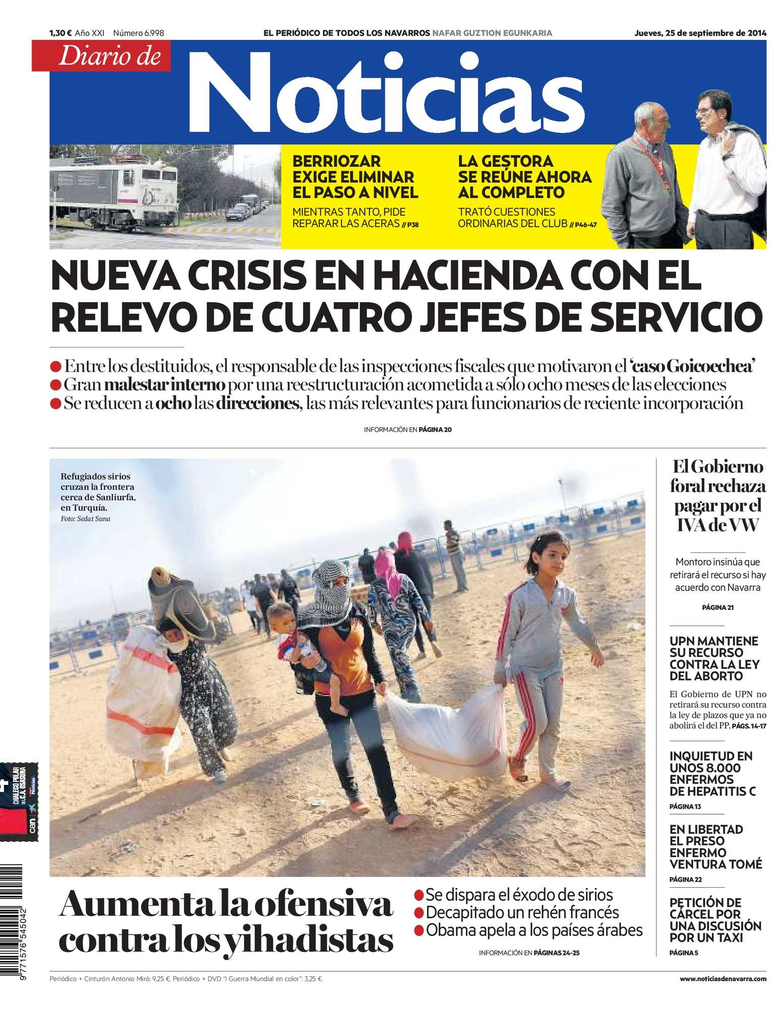 Calaméo - Diario de Noticias 20140925