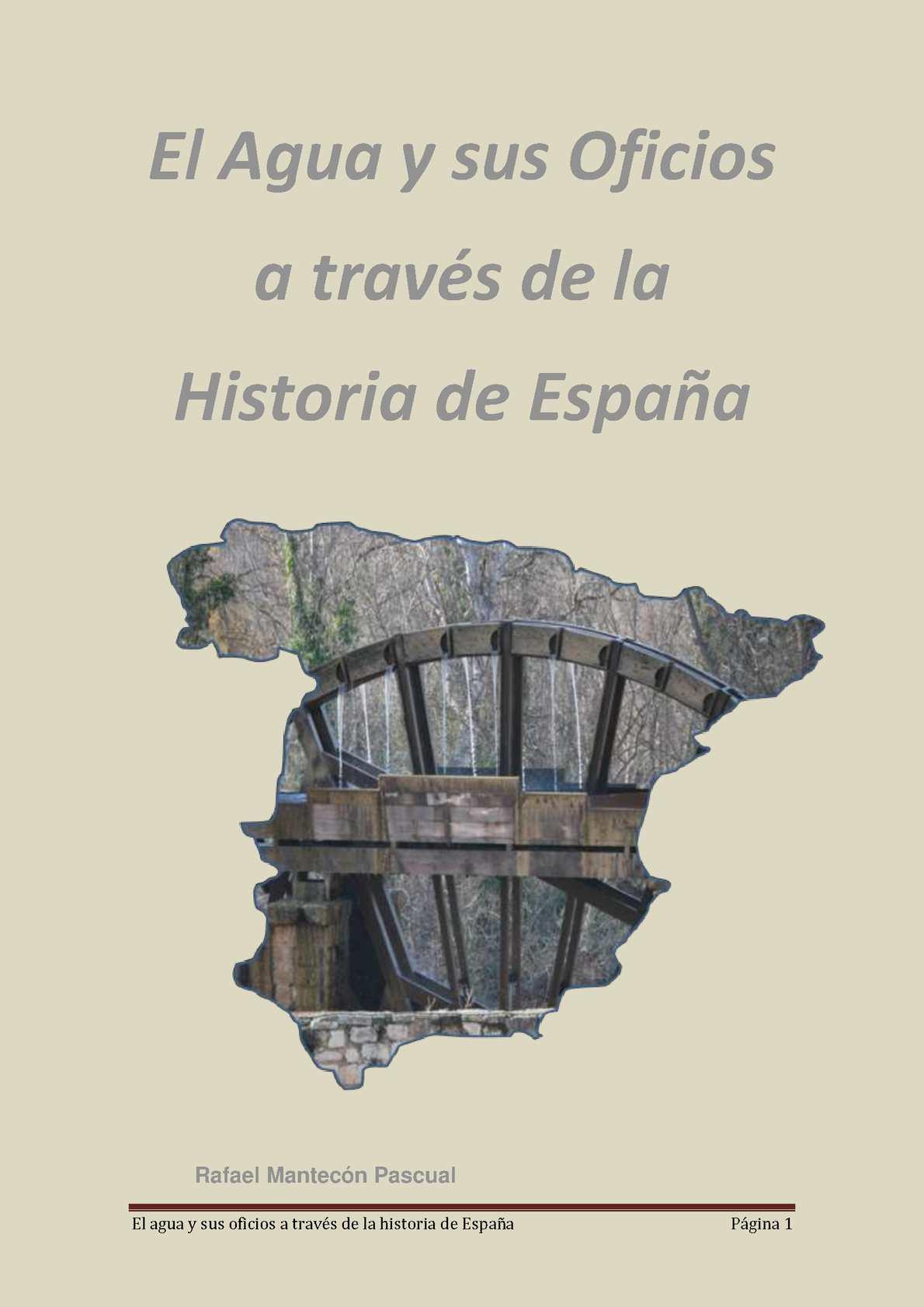 Calaméo - Libro El Agua Y Sus Oficios A Traves De La Historia De ...