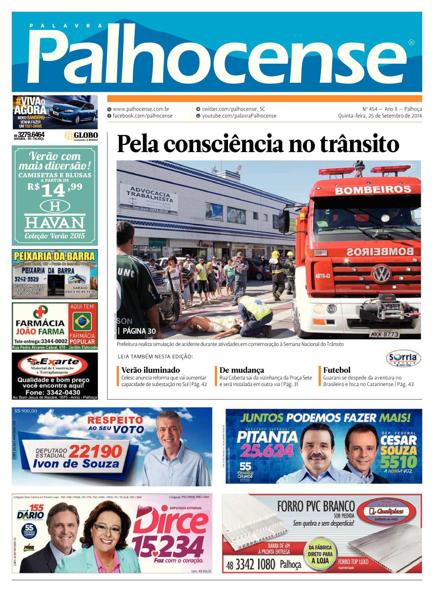 Calaméo - Jornal Palavra Palhocense - Edição 454 c1e5ae98b1f23