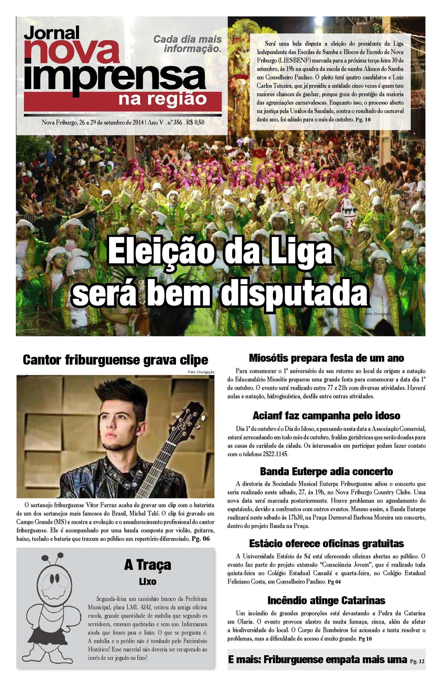 Jornal Nova Imprensa - Edição 356