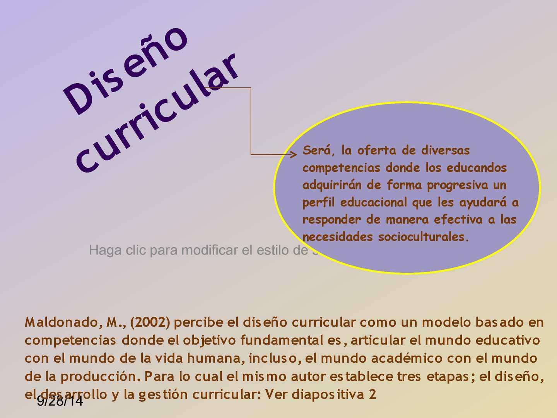 Calaméo - DIAPOSITIVAS DISEÑO CURRICULAR