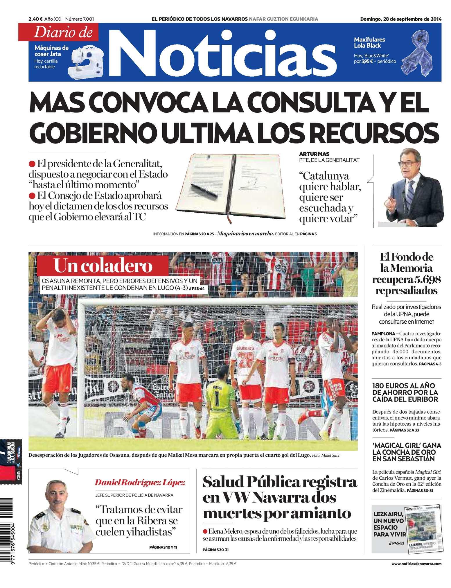 Calaméo - Diario de Noticias 20140928