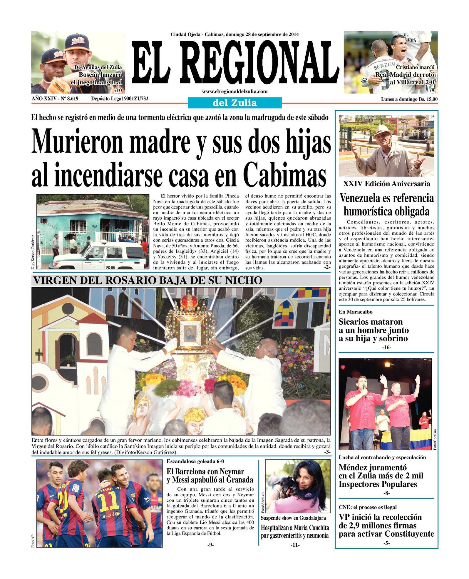 Calaméo - El Regional del Zulia 28-09-2014