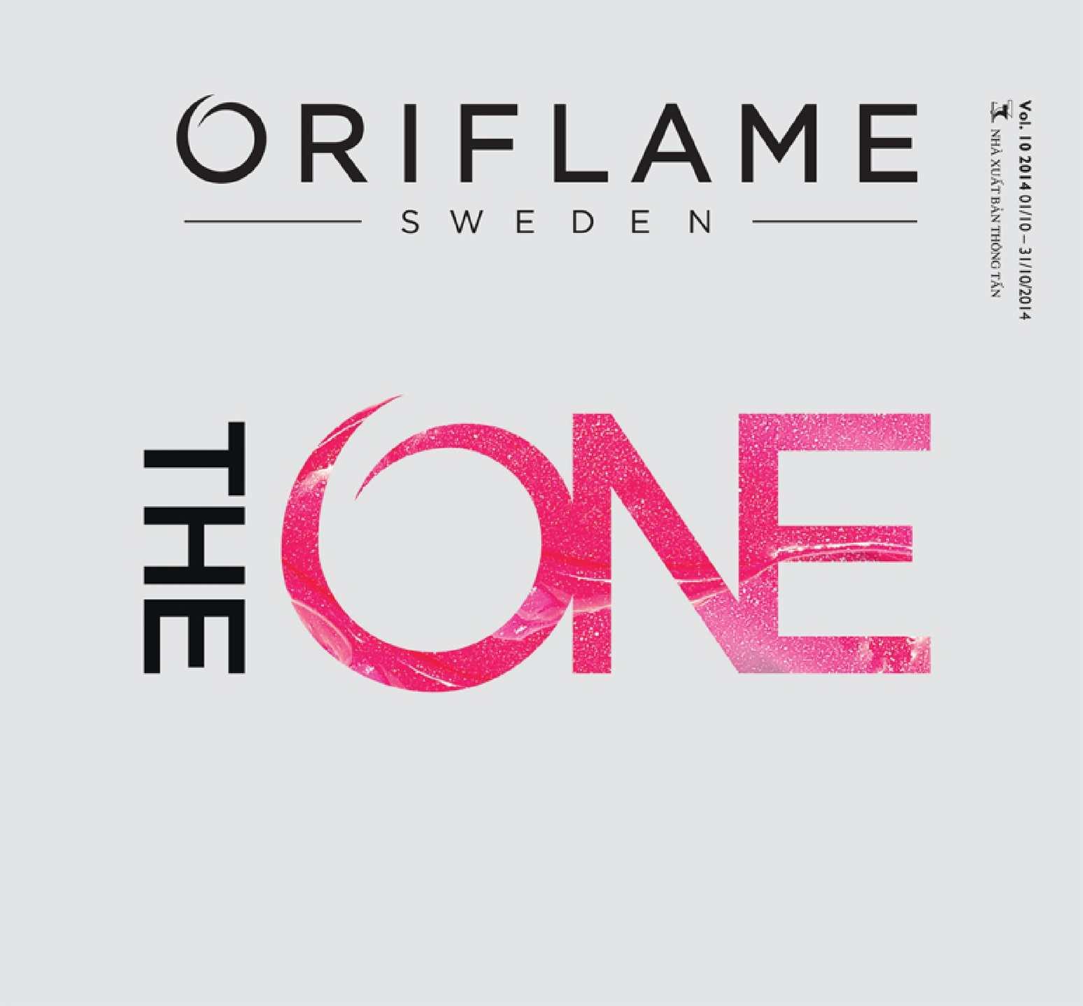 Catalogue My Pham Oriflame 10-2014