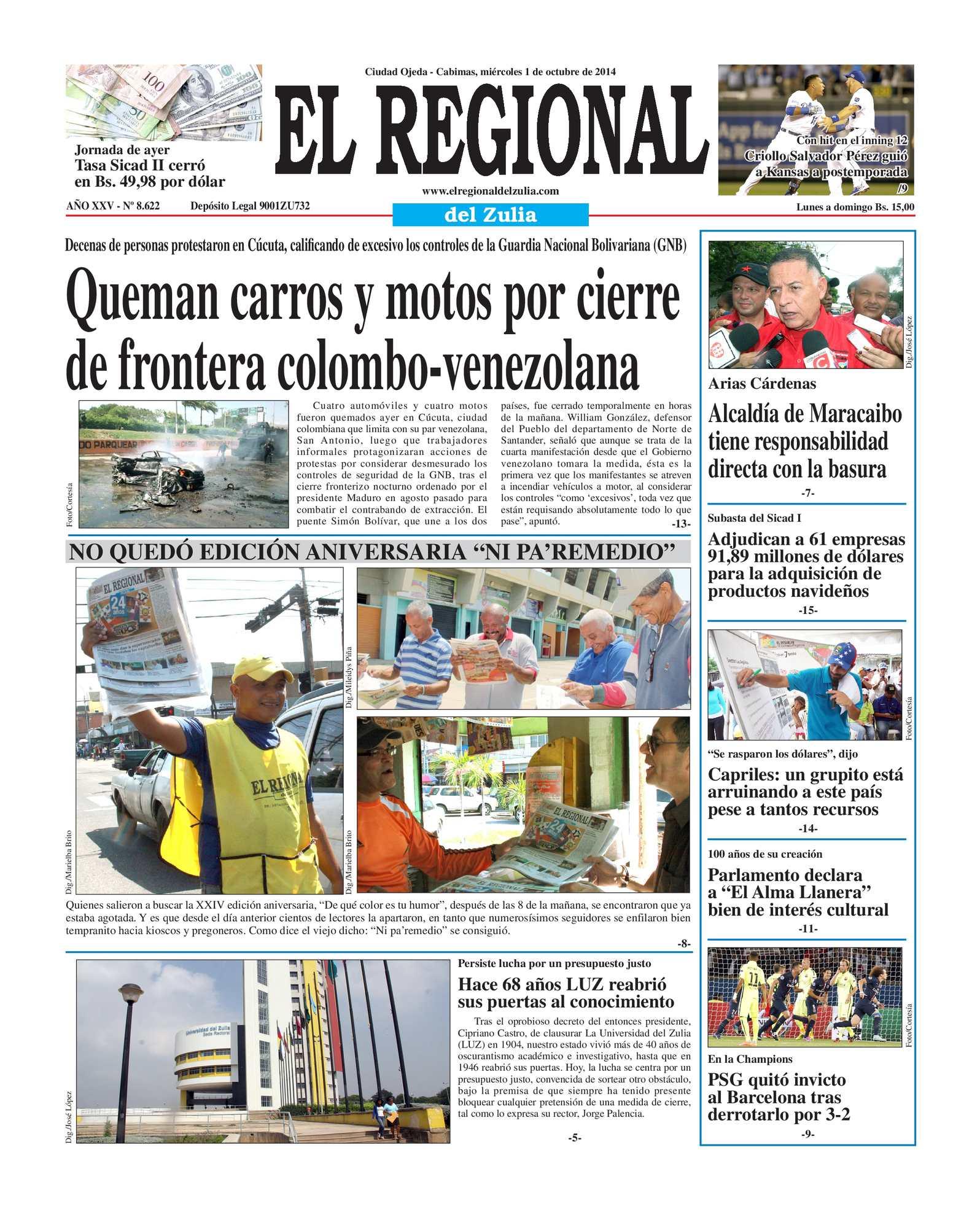 Calaméo - El Regional del Zulia 01-10-2014
