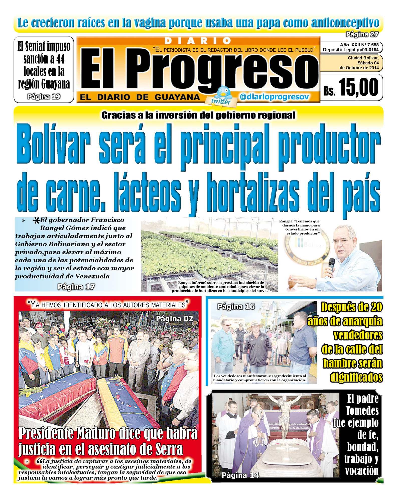 Calaméo - Diarioelprogresoedicióndigital 04-10-2014