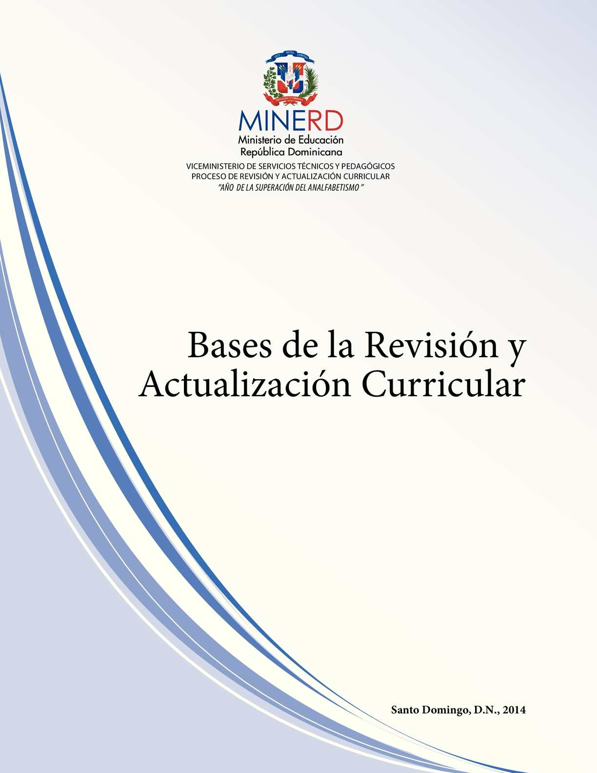 Calaméo - Base curricular 2014 MINERD