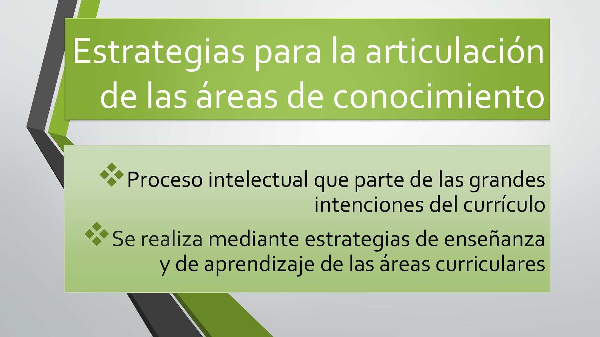 Calaméo - Estrategias para la articulación de las áreas curriculares