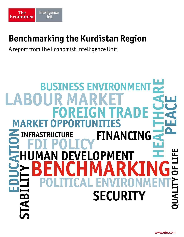 Benchmarking the Kurdistan - The Economist Intelligence Unit - EIU - July 2014
