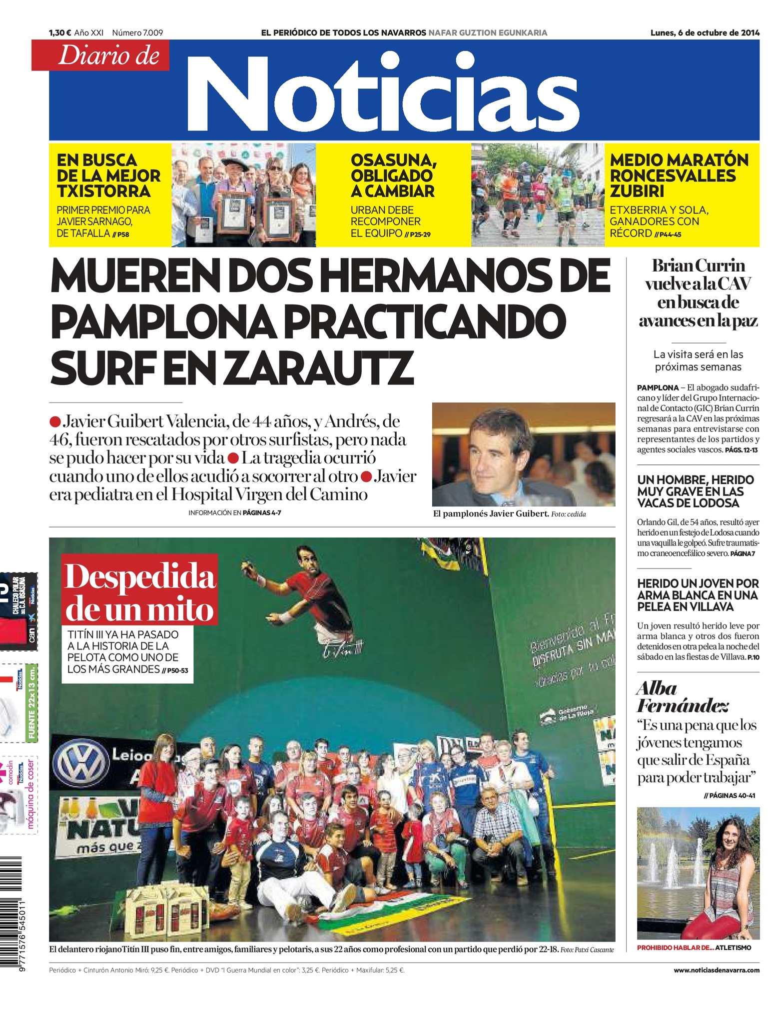 Calaméo - Diario de Noticias 20141006
