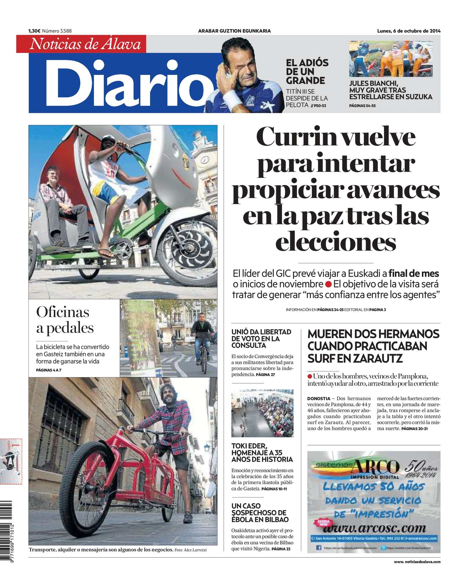 Calaméo - Diario de Noticias de Álava 20141006