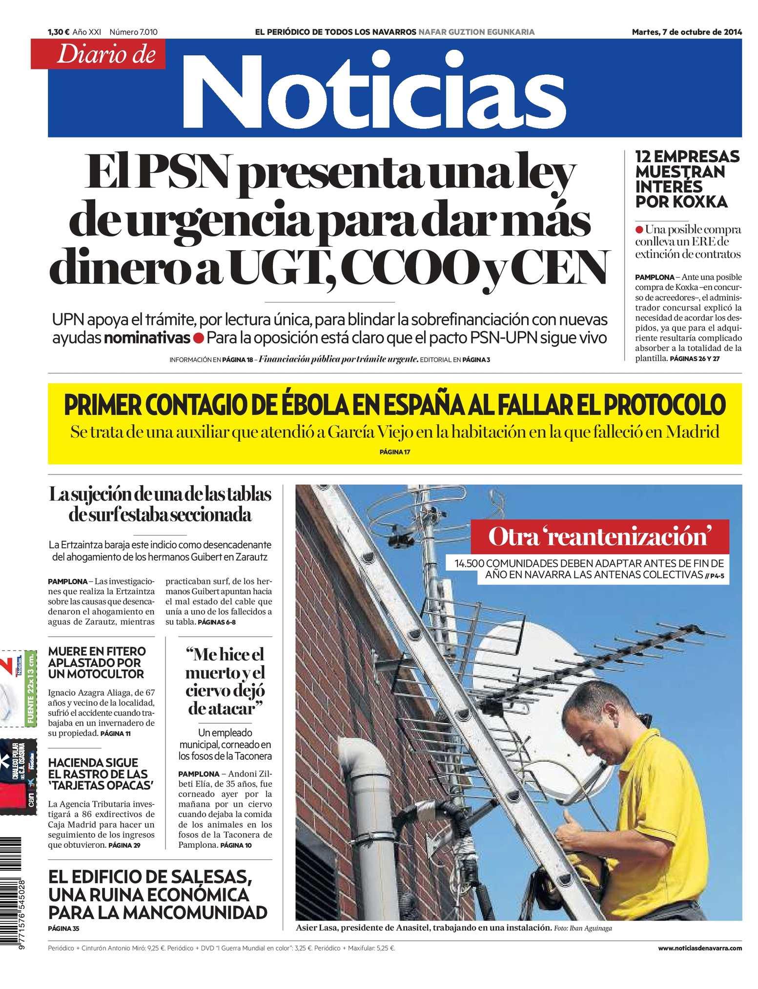Calaméo - Diario de Noticias 20141007
