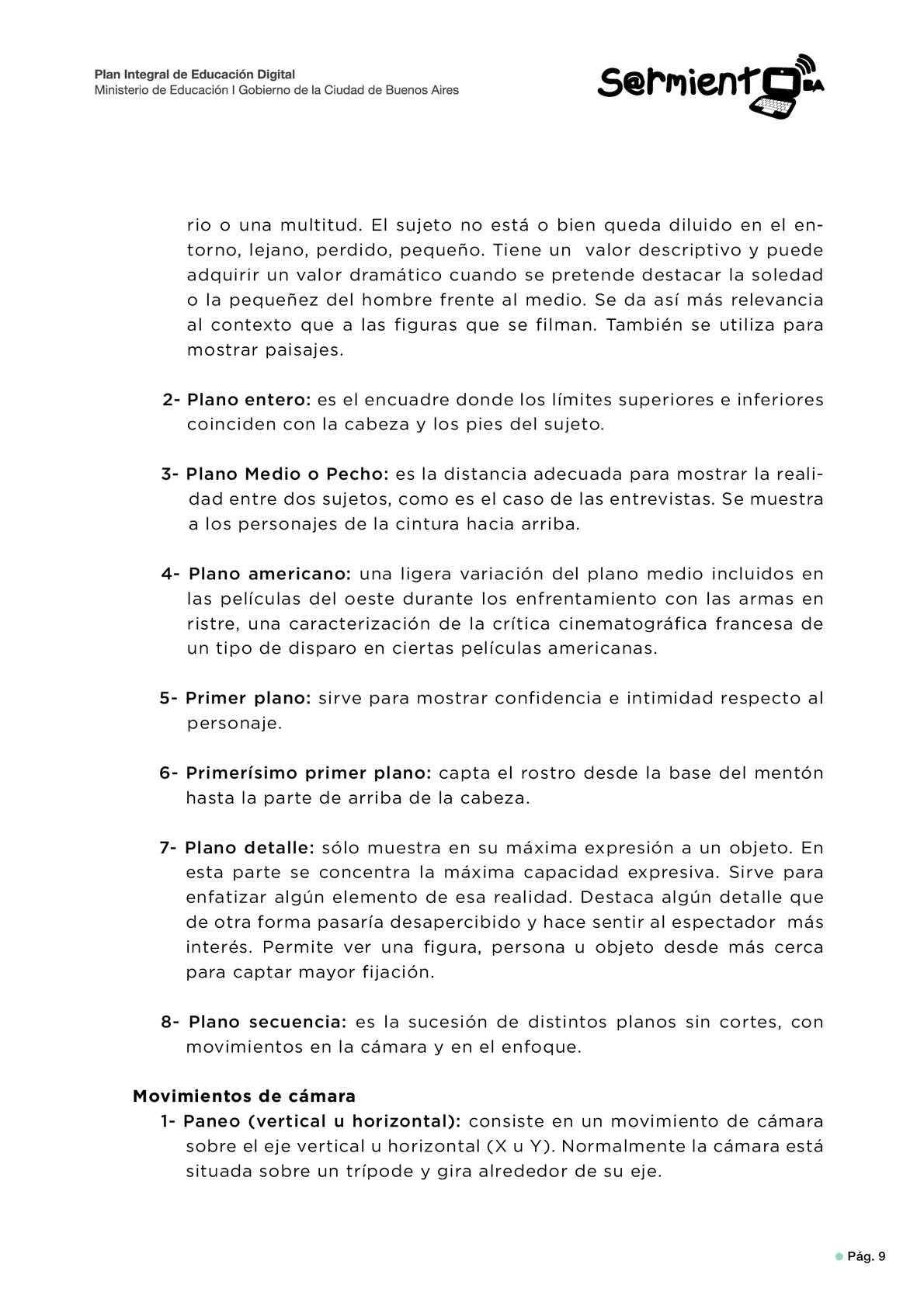 Guía para el Formador - Taller El lenguaje audiovisual - CALAMEO ...