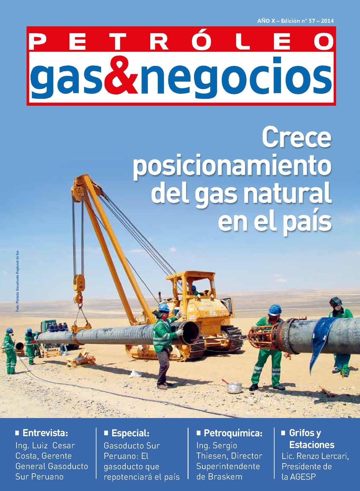 Calaméo - Edición 57 - Revista Petroleo, Gas & Negocios
