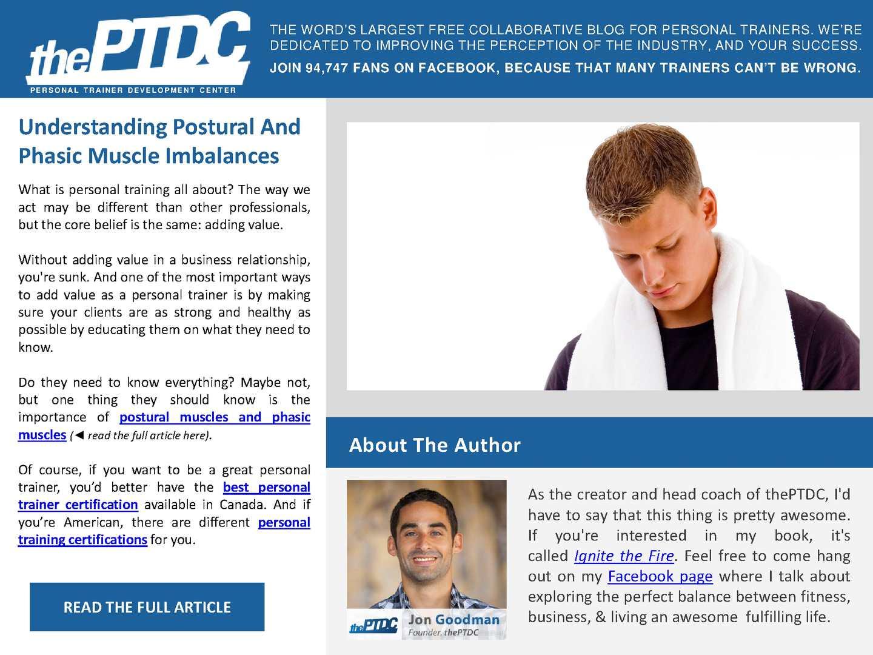 Calamo Understanding Postural And Phasic Muscle Imbalances