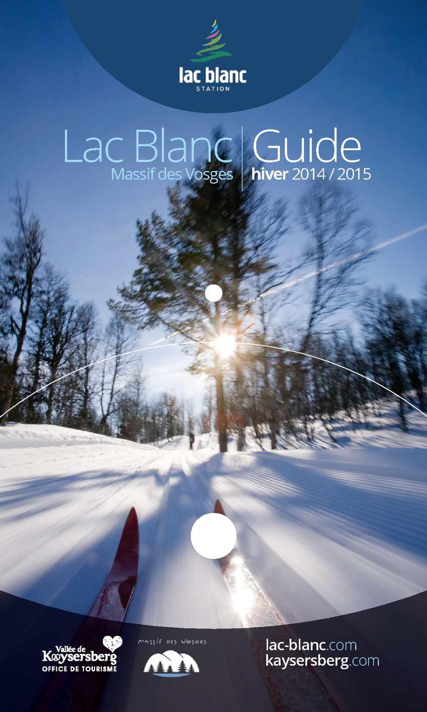 Calameo Guide Pratique Lac Blanc Hiver 2014 2015