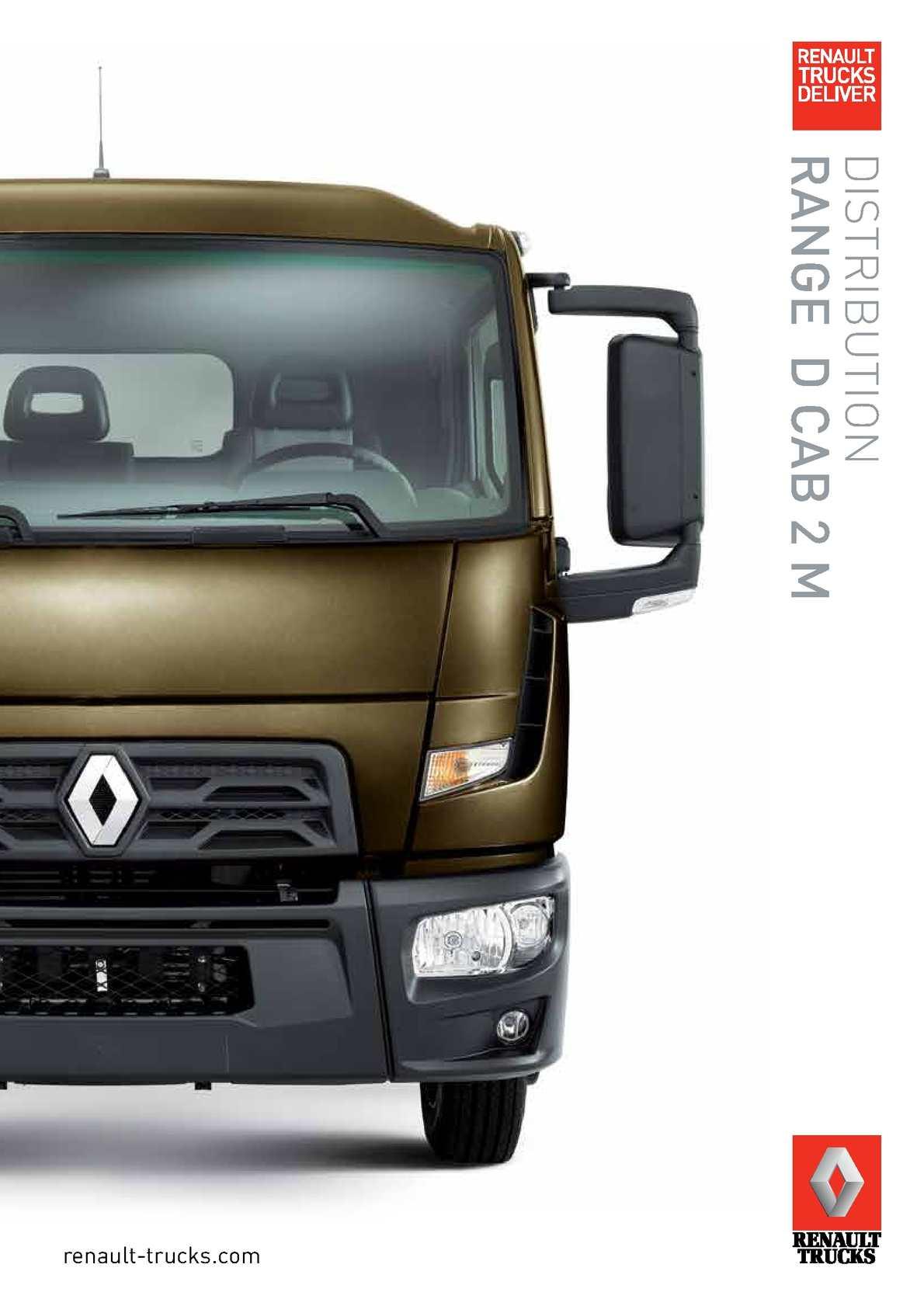 Calam o renault trucks d cab 2m distribution range 2014 for 2m distribution