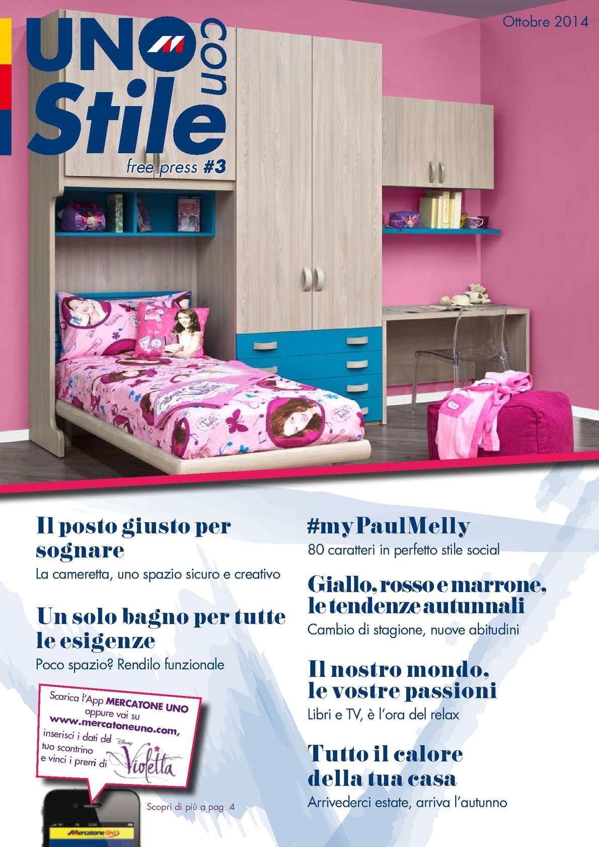 calaméo - magazine mercatone uno ottobre - Soggiorno Globo Mercatone Uno