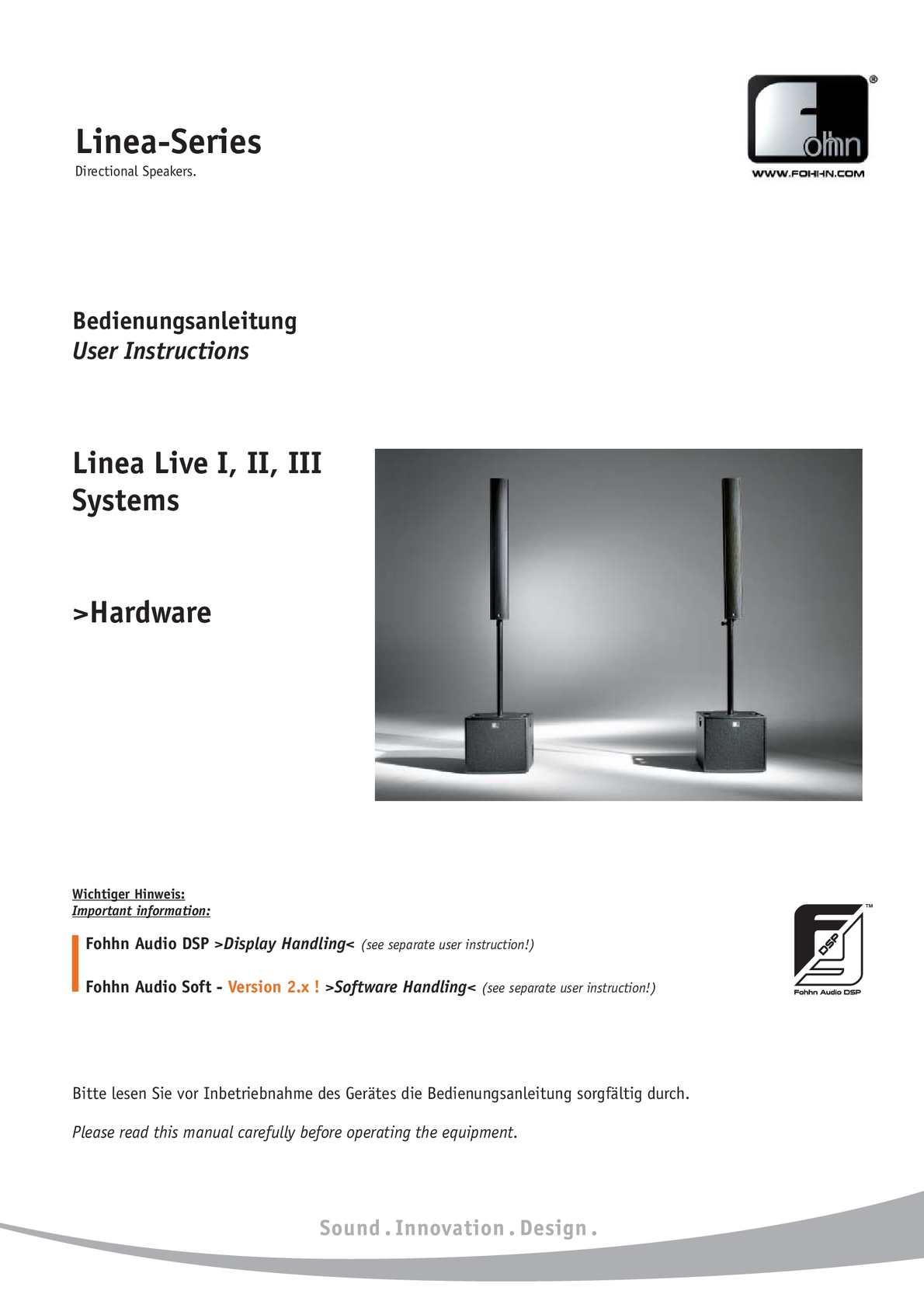 Calaméo - FOHHN LX 150 Speakers