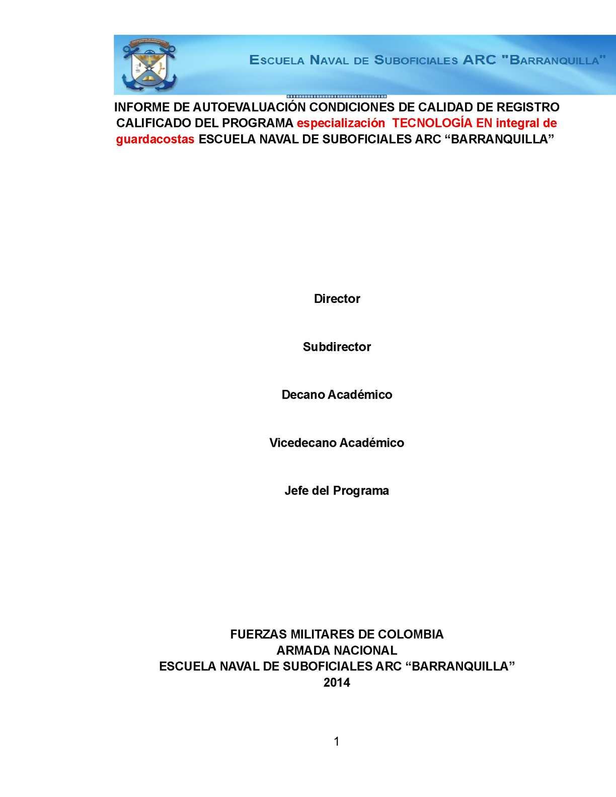 Calaméo - Plantilla Documento Maestro Guardacostas