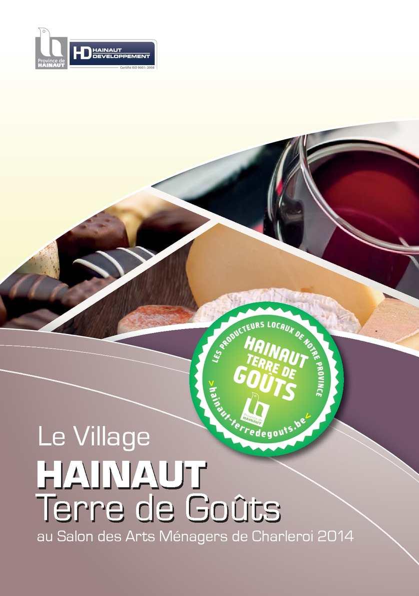 Calam o le village hainaut terre de go ts au salon des arts m nagers de charleroi 2014 - Salon de toilettage hainaut ...