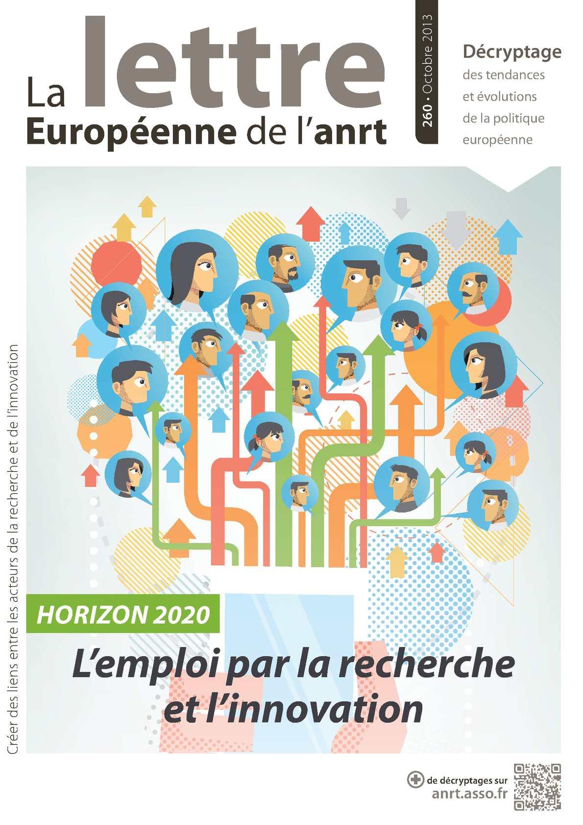 LETTRE EUROPEENNE DE L'ANRT