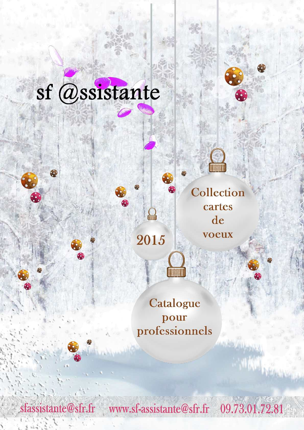Catalogue Cartes de Voeux 2015