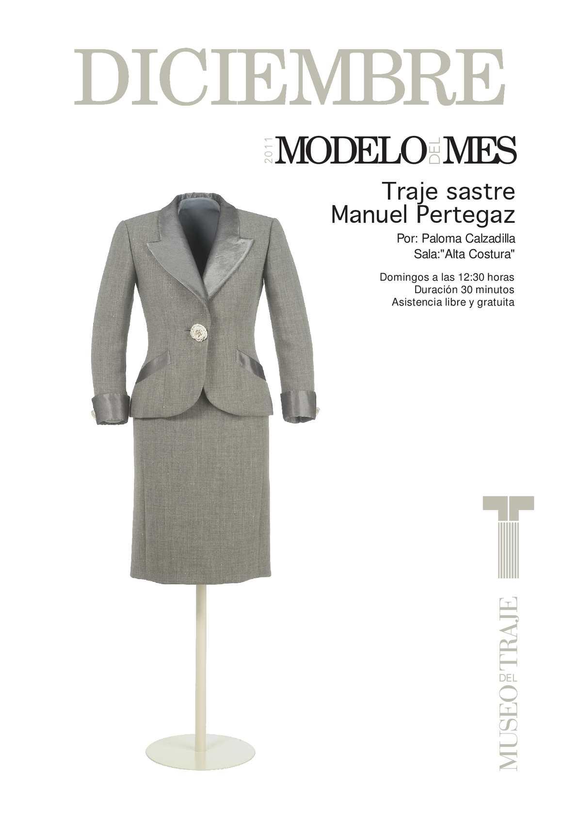 Calaméo - Traje sastre de Manuel Pertegaz
