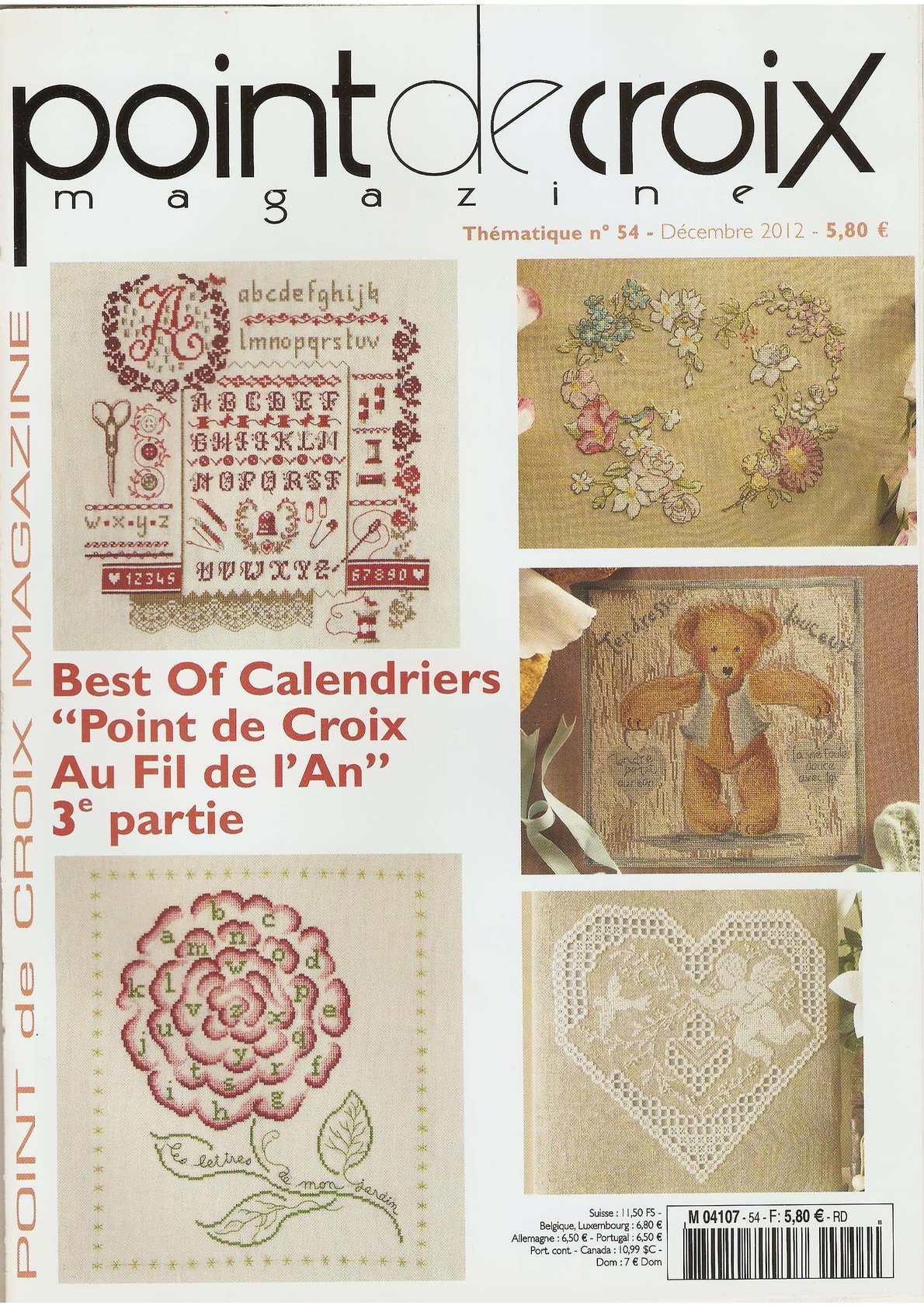 Calaméo - Point De Croix Magazine 2012 54