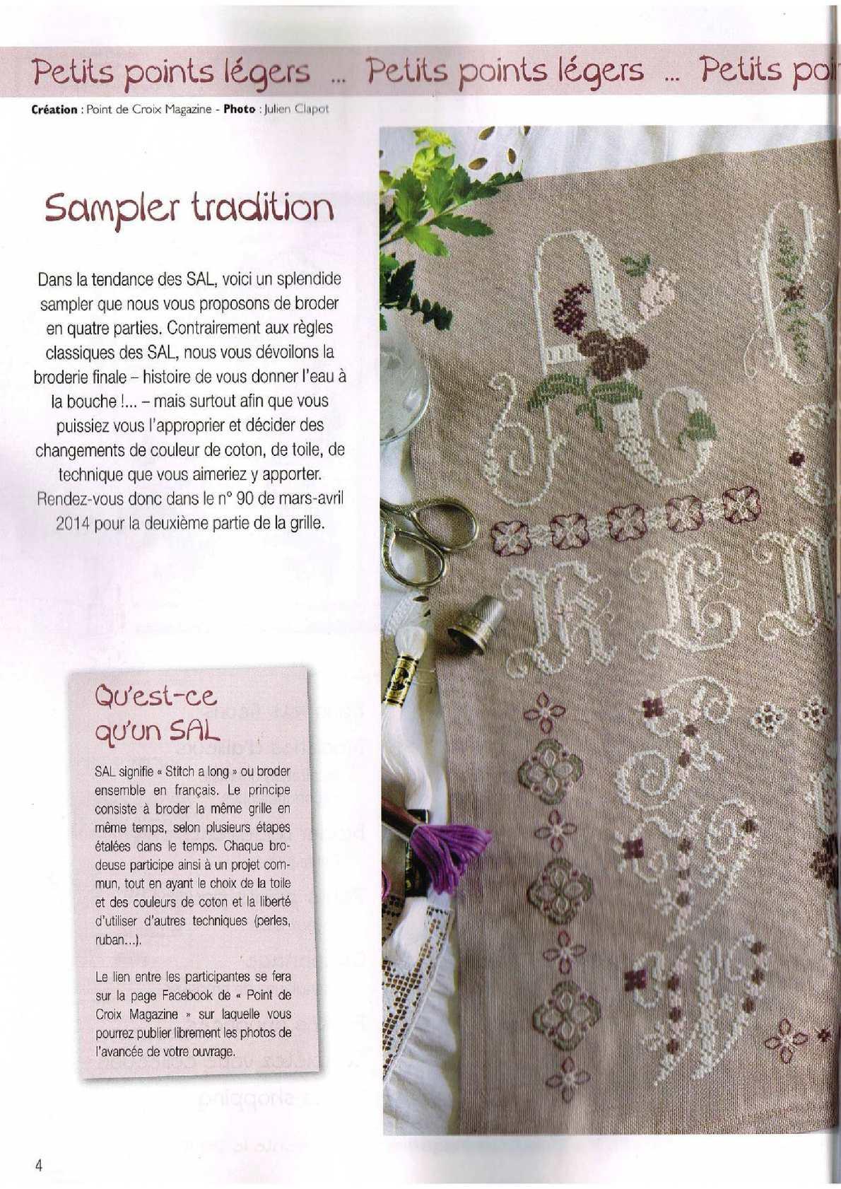 Point De Croix Magazine 2014 89 Calameo Downloader