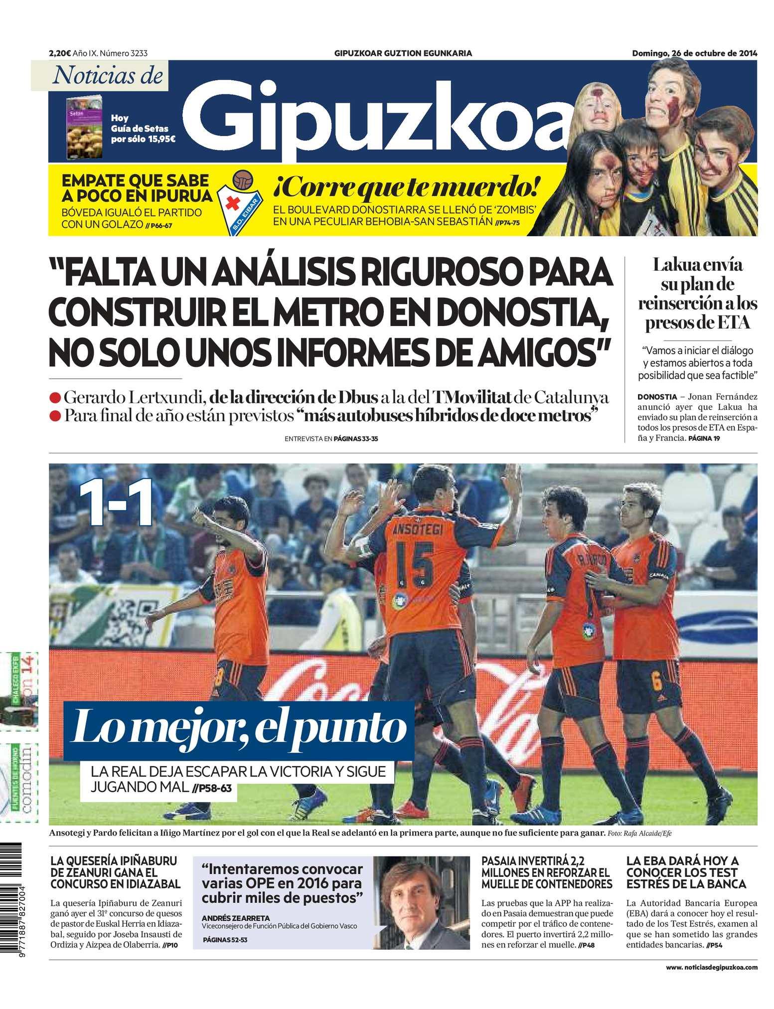 Calaméo - Noticias de Gipuzkoa 20141026