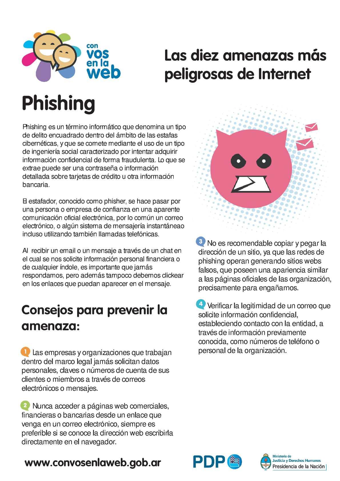 Calaméo - Amenazas Phishing