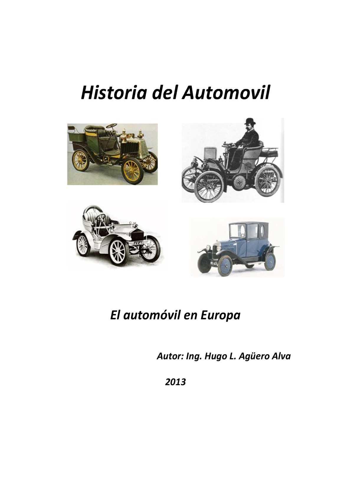 Calaméo - Historia del automóvil en Europa