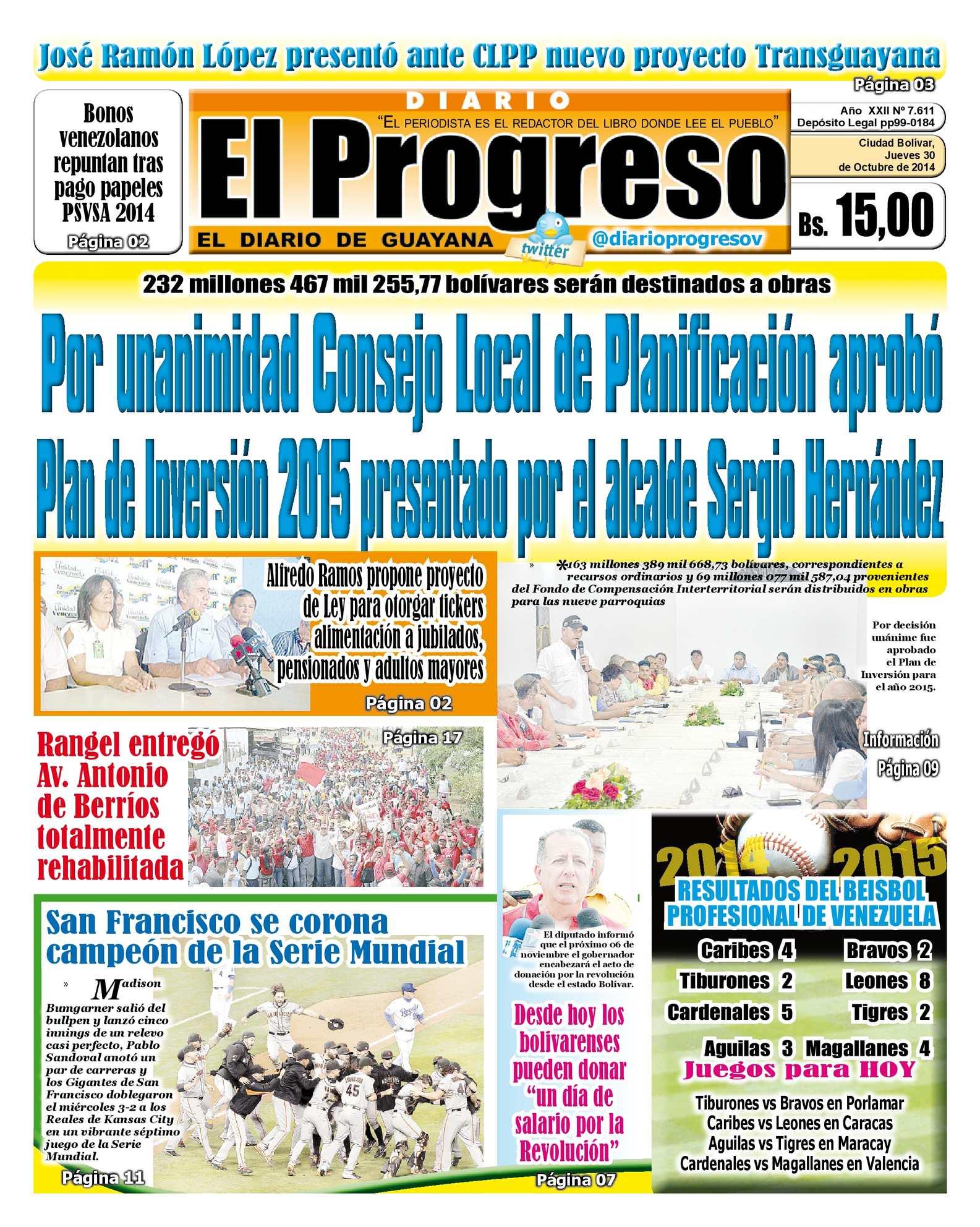 Calaméo - DiarioelprogresoEdiciónDigital 30-10-2014